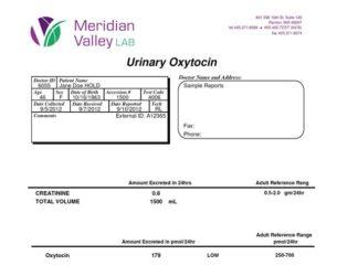 meridian labs oxytocin test image